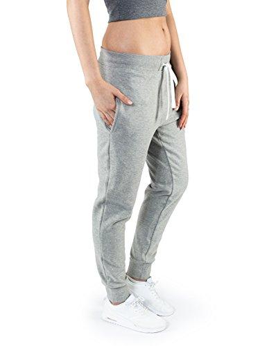 Casual Standard Jogginghose Damen Baumwolle lang elastischer Bund