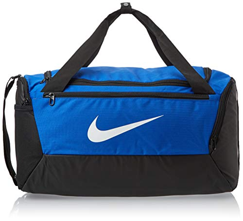 Nike NK BRSLA S DUFF - 9.0 (41L) Gym Bag, Game Royal/Black/White, 51 cm