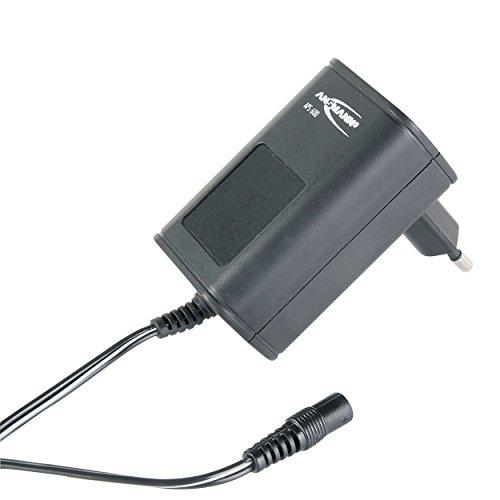 ANSMANN APS 600 Universal Stecker Netzteil 12V inkl. 7 verschiedende Adapter Stecker - Netzstecker bis max. 600mA - Netzadapter zur Stromversorgung vieler Elektrokleingeräte von 3-12 Volt regelbar