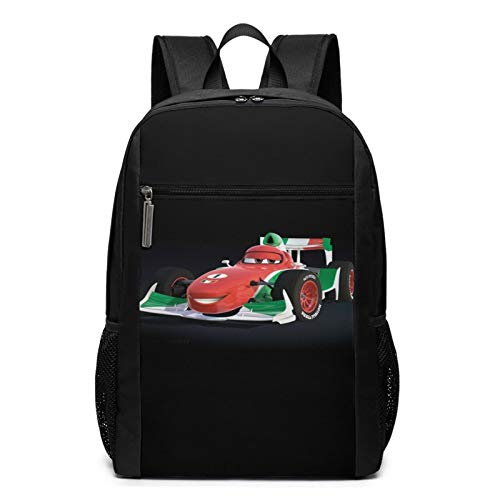 Cars Ligh-tning Mc-queen clásico mochila de viaje básica para la escuela resistente al agua Bookbag 30L* 17W* 43H cm
