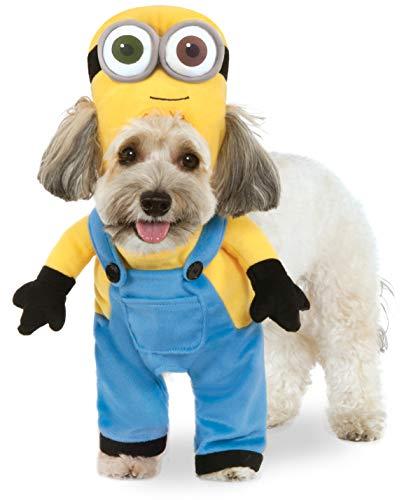 Rubie's Costume per Cani Modello Minion Bob, Vestito con Maniche