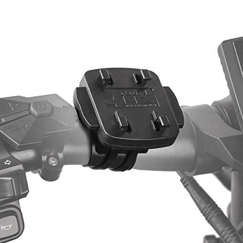 Wicked Chili Ersatz Fahrradhalterung 4-Krallen System, kompatibel mit iGrip, HR Herbert Richter, QuickFix, Teasi, Tahuna/Fahrrad Motorrad Lenker Vorbau Halterung Bike Mount (Flach und leicht, 20g)