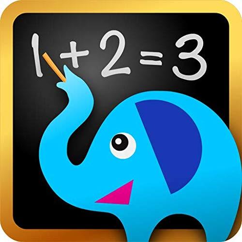 Matemática e Lógica - #1 Treinamento adaptativo para crianças e pré-escolares de até 10 anos: jogos educativos, atividades artísticas e quebra-cabeças de aprendizado