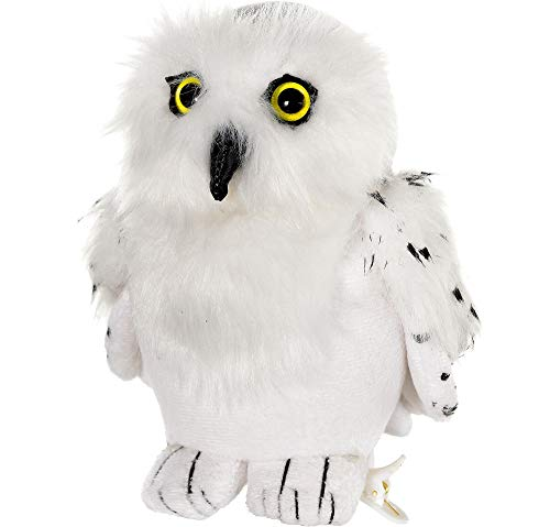 Suit Yourself Harry Potter Hedwig Plush Clip, Plush Snowy Owl Accessory Features a Plastic Clip for Their Shoulder