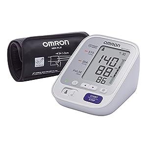 OMRON M3 Comfort - Tensiómetro de brazo, tecnología Intelli Wrap Cuff, Blanco, M3 con Manguito Inteligente