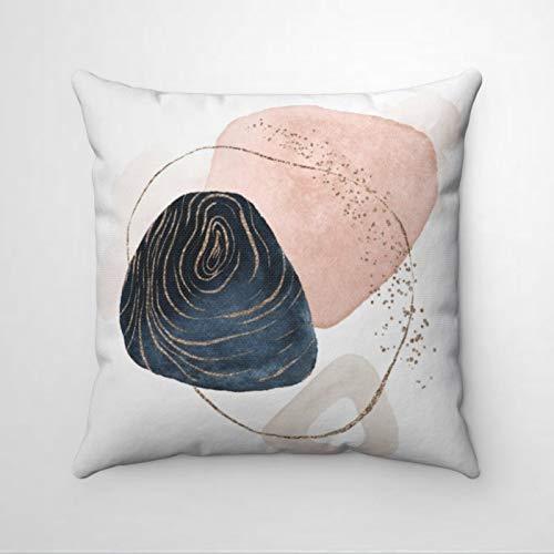 EricauBird Art Navy - Funda de almohada decorativa para el día de San Patricio, interior, sofá, sala de estar, coche.