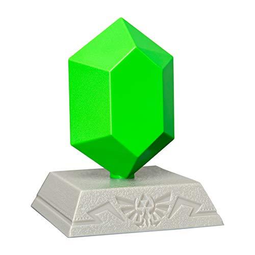 ZELDA - Green Rupee 3D Mini Light - 10cm : P.Derive
