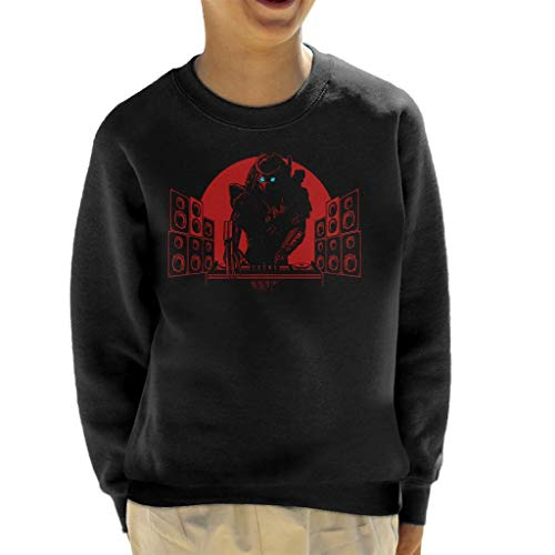 Cloud City 7 Killer Beats DJ Predator Sweatshirt voor kinderen