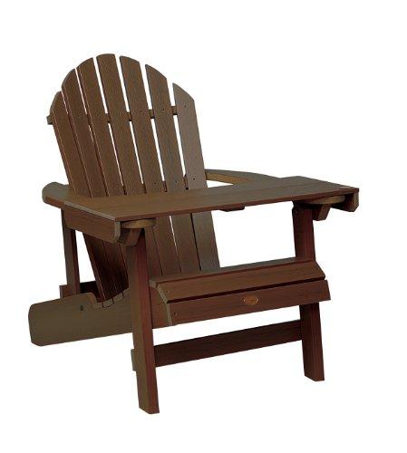 Highwood AD-LAPT1-ACE Adirondack laptop/leestafel, verweerde eikel (zonder stoel)