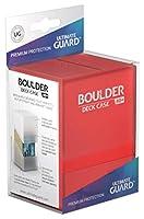 Ultimate Guard(アルティメットガード) Boulderデッキケース80+ ルビー