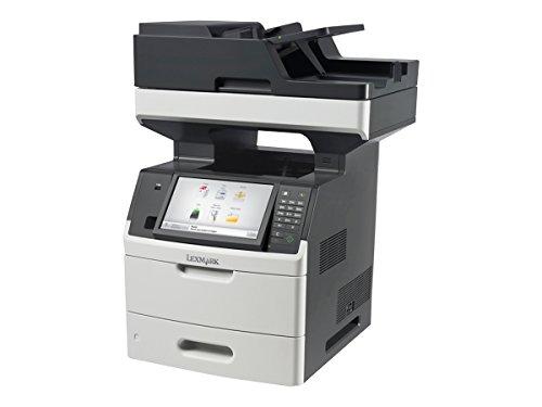 Lexmark MX711dhe Laser 66 ppm 1200 x 1200 dpi A4 - Impresora multifunción (Laser, 1200 x 1200 dpi, 650 Hojas, A4, Impresión Directa, Negro, Gris)