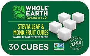 6-Pack Whole Earth Sweetener Co. Monk Fruit Sweetener Cubes
