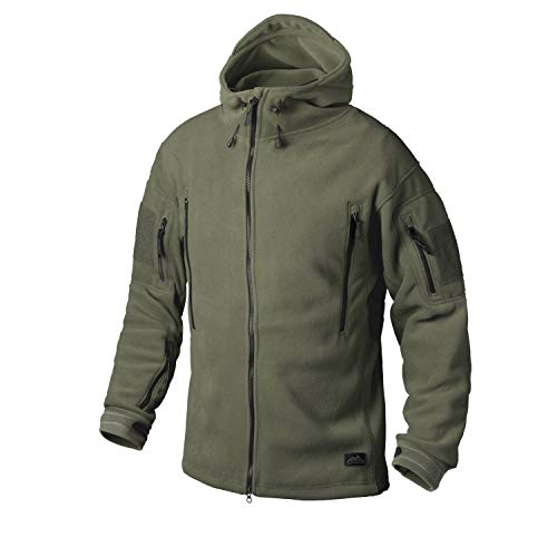 Helikon Tex PATRIOT Heavy Fleece VESTE Olivgrün (XL)
