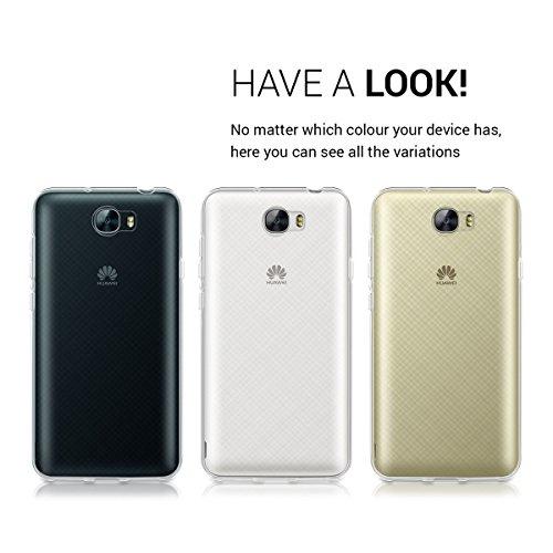 kwmobile Huawei Y6 II Compact (2016) Hülle - Handyhülle für Huawei Y6 II Compact (2016) - Handy Case in Transparent - 6