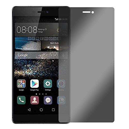 Blickschutzfolie für Huawei P8 Max Sichtschutz 4-Way Displayschutzfolie 360 Grad View Protection Privacy Schwarz