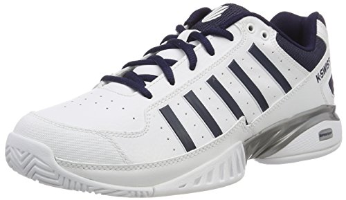 K-Swiss Performance Herren Receiver Iv Tennisschuhe, Weiß (White/Navy 37), 42.5 EU