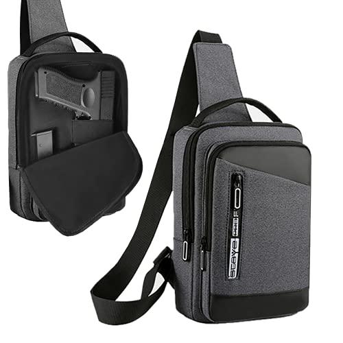 Pistol Soft Case, Pistol Crossbody Bag Chest Pack, Shooting...