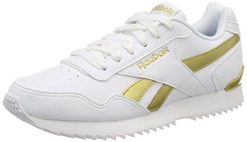 Reebok Damen ROYAL Glide RPLCLP Fitnessschuhe, Weiß (White/White/Gold Met 000), 38 EU