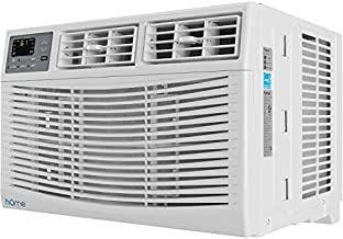 hOmeLabs 8,000 BTU Window Air Conditioner - Energy Star Certified AC Unit with Digital Thermostat and Easy-to-Use Remote Control - Ideal for Rooms up to 350 Square Feet