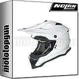 NOLAN CASCO MOTO CROSS N53 SMART PURE BIANCO 015 TG. XXL