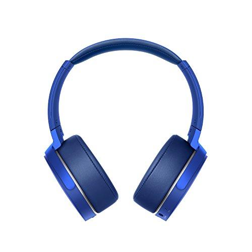 Sony MDRXB950B1L.CE7 Kabellose Kopfhörer (extra Bass), Blau