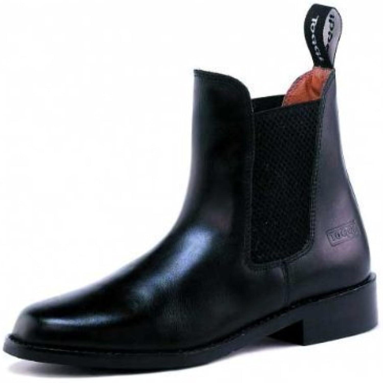 Toggi Ottawa Unisex Pull On Leather Jodhpur Boot In Black, Size  6