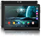 Android Tablet, Android 8.1 OS, 10 inch 1280x800 IPS HD Screen, 2GB RAM+32GB ROM, 3G Phablet, Dual Camera & Dual Speakers, WiFi, GPS, Bluetooth, FM, Google Certified Tablets -Black