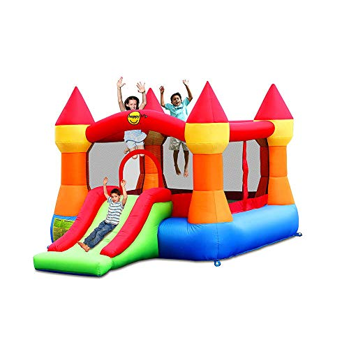 Happy Hop HappyHop 9017N. Castillo Hinchable: Bouncer con Slide.