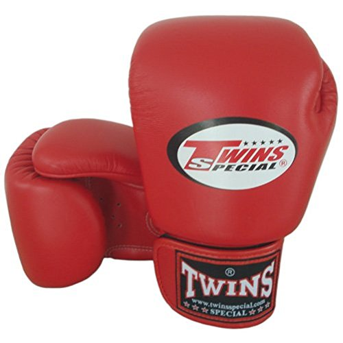 8-10-12-14-16 oz Red Twins Special Muay Thai