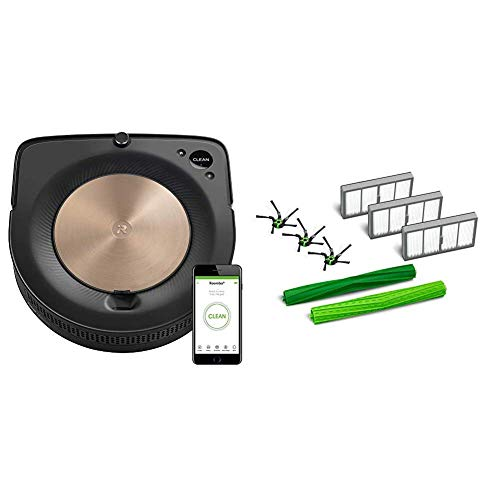 iRobot Roomba S9 (9150) Robot Vacuum with Roomba s Series Replenishment Kit