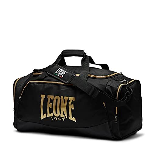 Leone 1947 - Borsone Pro Bag, Unisex – Adulto, Nero, Taglia Unica