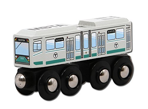 MBTAgifts MBTA Green Line Streetcar Wooden Toy Train