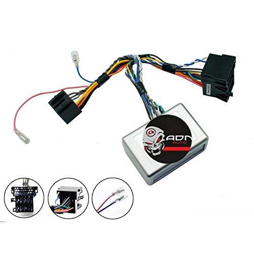 Interface Commande au volant KI3J compatible avec Kia ap09 Mini-ISO Avec ampli JVC