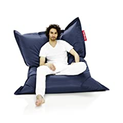 FUN & MULTIFUNCTIONAL: The Fatboy Original is the world's best-known bean bag lounge chair. A lifestyle icon that's practically indestructible. Sit, lie down or lounge the way you want with the Original bean bag COMFORTABLE: Filled with virgin polyst...