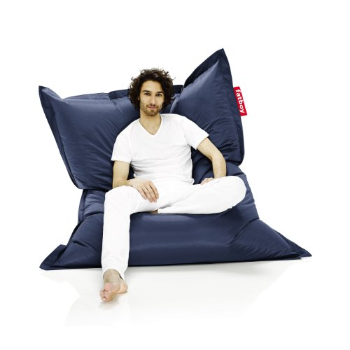 Fatboy The Original Bean Bag Chair, Blue
