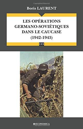 Les opérations germano-soviétiques dans le Caucase (1942-1943)