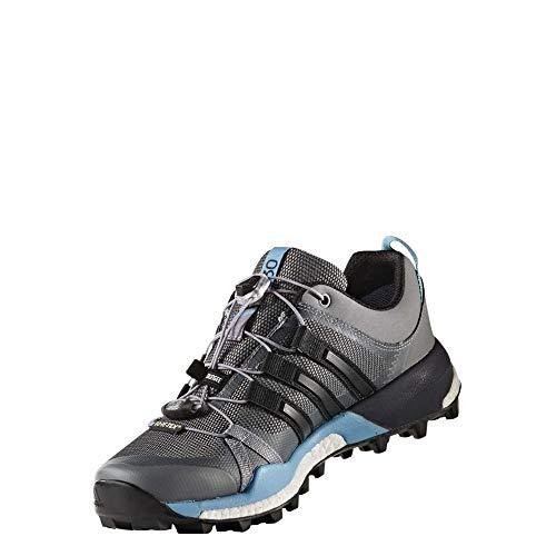 adidas adidas Damen Terrex Skychaser GTX W Trekking- & Wanderhalbschuhe, Graue Gridos schwarz Azuvap, 38 EU