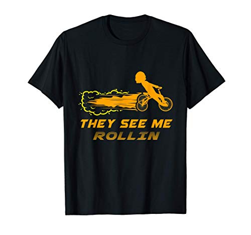Tricycle Speed Race Bike Bicycle Bike Cyclist Cycling Gift T-Shirt