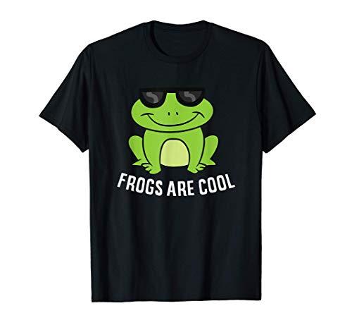 Frösche sind cool Froschliebhaber Lustige Frösche T-Shirt