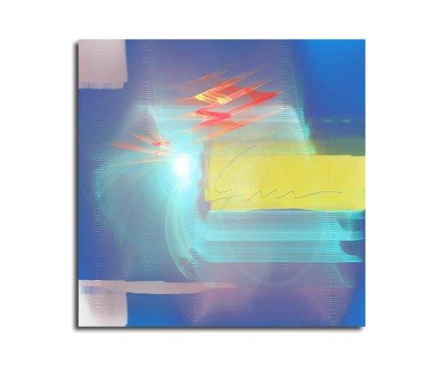Moderne abstrakt012_60 x 60 cm sur toile motif abstrait intérieur décoration indémodable, 047