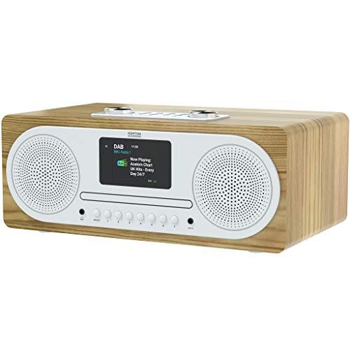 AZATOM Clockwood 2 DAB+ DAB FM Radio/CD PLAYER/Bluetooth 5.0/30 Watts...
