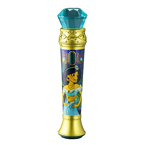Aladdin Sing Along MP3 Microphone Sing to Built in Music Or Connect Your Audio Device & Sing to Whatever You Like