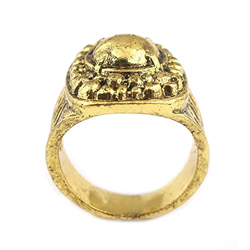 Rj dropshipping oscuro alma demonio anillo cloranthy havel cicatriz anillo cosplay anillo de los hombres joyería accesorio regalo
