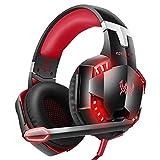Montado en la Cabeza Gaming Headset, 3.5mm Auriculares con Cable con el...