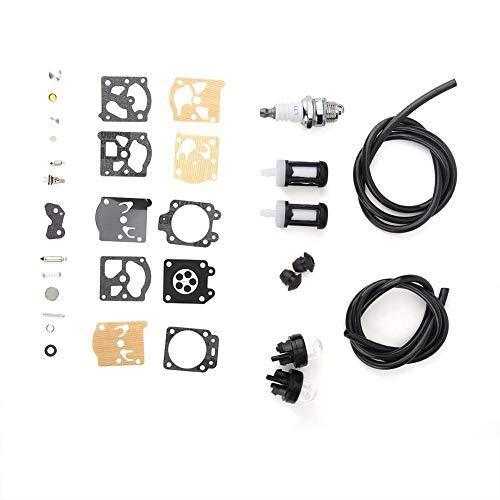 Kit de Filtro de reparación de carburador Apto para STIHL FS36 FS40 FS44 Cortadora de césped Reemplazo Motosierra Repuestos Herramientas eléctricas para Exteriores