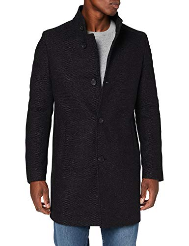 CINQUE CIHILTON Wollmischungs-Mantel, Herren, Grau 54 EU