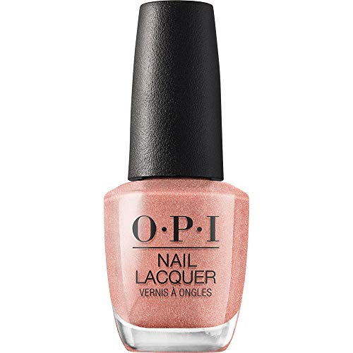 OPI Nail Lacquer, Worth a Pretty Penne, Pink Nail Polish, Venice Collection, 0.5 fl oz