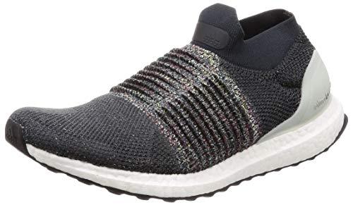 adidas Herren Ultraboost Laceless Laufschuhe, Schwarz (Carbon/DGH Solid Grey/Ash Silver), 53 1/3 EU