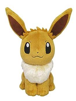 Sanei Pokemon All Star Series Eevee Stuffed Plush 8