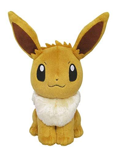 Sanei Pokemon All Star Series Eevee Stuffed Plush, 8 by Sanei